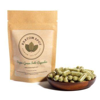 super green indo kratom capsules