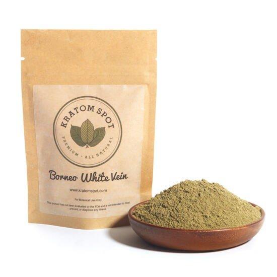 borneo white vein kratom powder