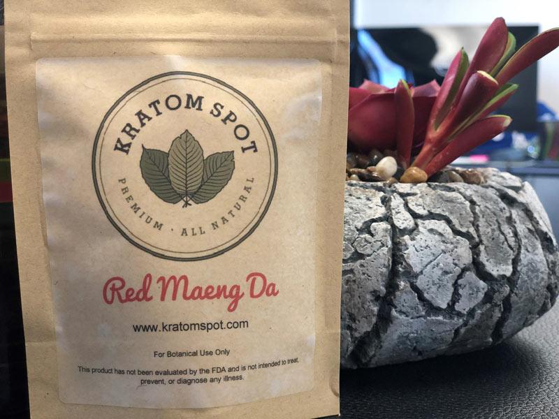 Bag of Kratom Spot Red Maeng Da Kratom